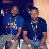 A3C with my MC and Philly hip-hop recording artist Chris Vance