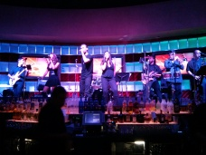 Playing alongside Cheers the band (Blue Martini, Bally's, Atlantic City)