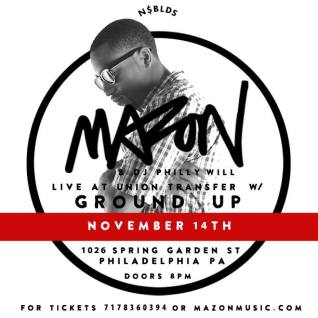 Mazon w: Ground Up at Union Transfer